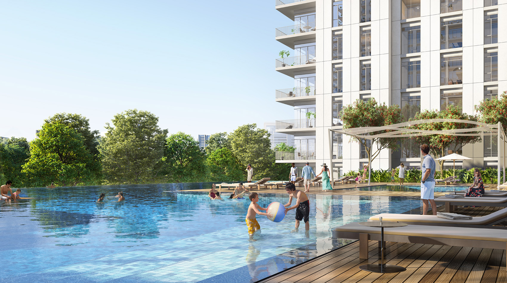 Emaar Executive Residences II at Dubai Hills Estate amenities