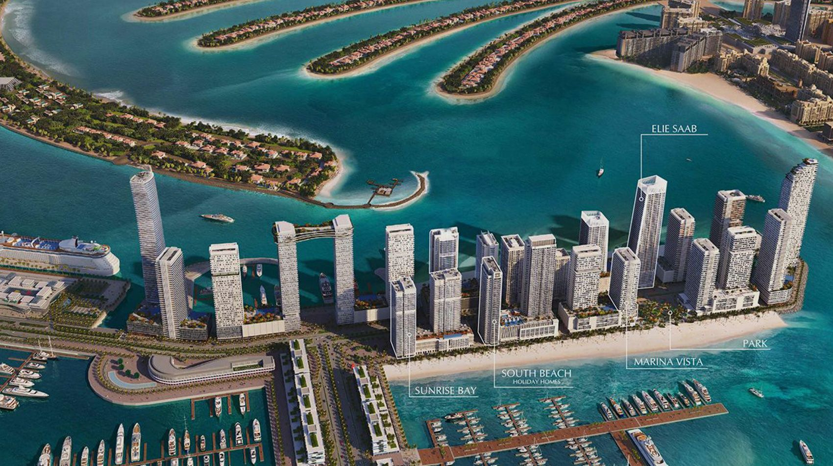Emaar South Beach Holiday Homes